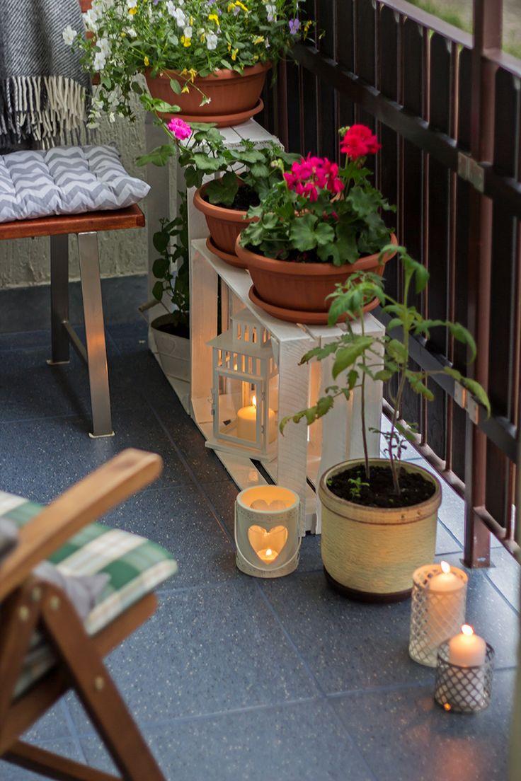 Aranżacja balkonu, balkon / balcony, home decor