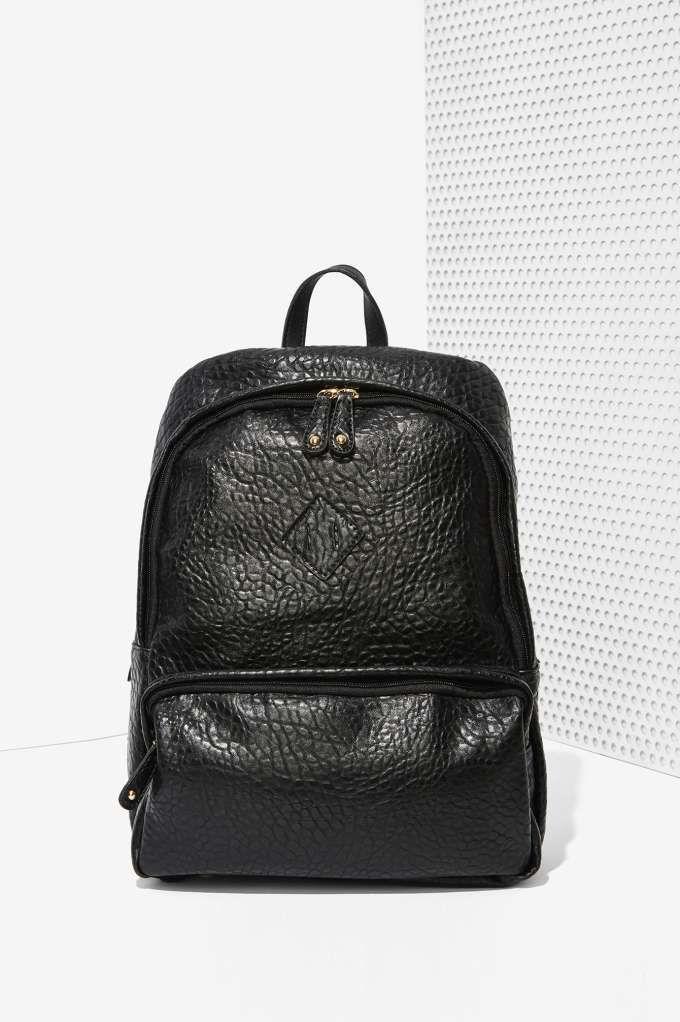 Bad Kids Vegan Leather Backpack -  | Back In Stock | Bags + Backpacks |