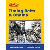 Rellim Timing Belts & Chain Replacement 3rd Edition Mid 80's-2015 MPN RERTB3