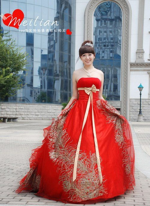Gold And Red Wedding Dress Ideas Pinterest Dresses