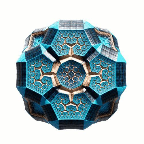 Este fractal animado es la perfecta unión de las matemáticas y la psicodelia