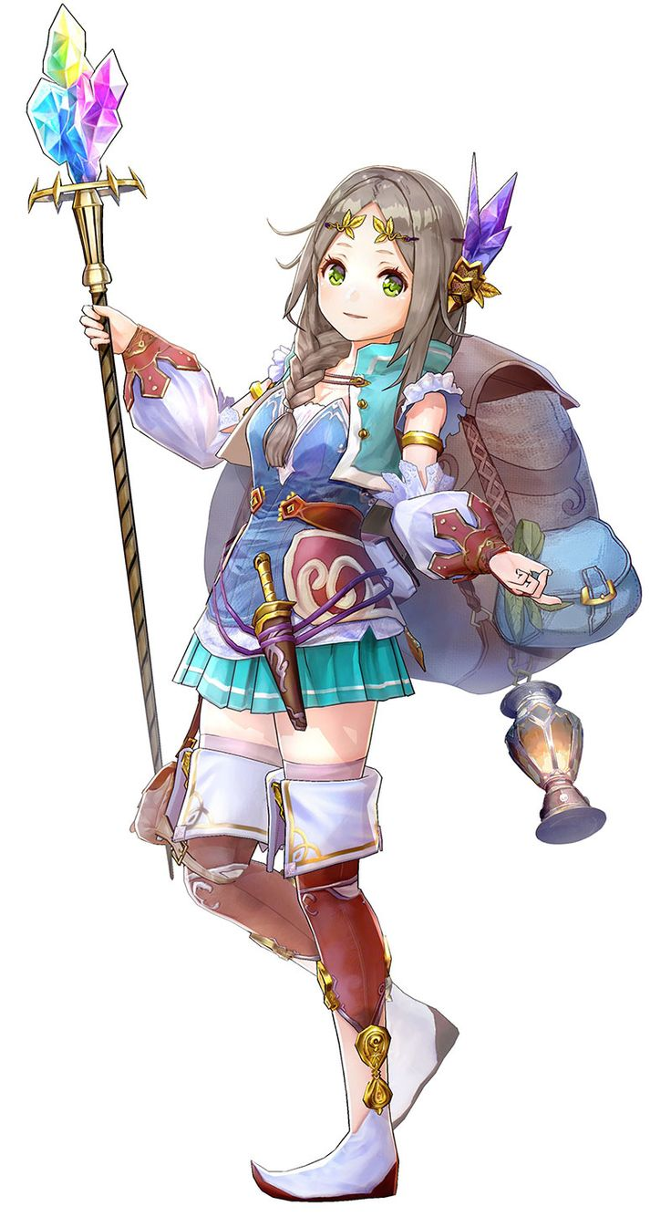 Firis from Atelier Firis: The Alchemist and the Mysterious Journey