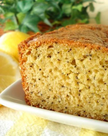 Amish friendship lemon poppy seed bread