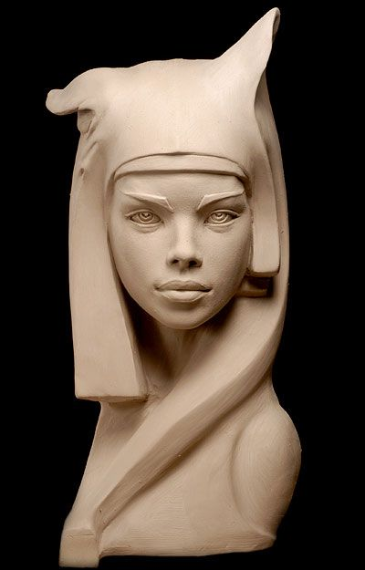 ❤ - Philippe Faraut | The Guardian - 2004  Philippe Faraut, Portrait Sculptor Philippe Faraut is a figurative artist specializing in life-size portrait sculptures and monumental stone sculptures. His media of choice are water-based clay and marble. Beautiful modern bust