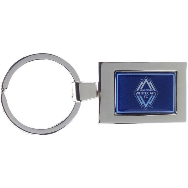 Vancouver Whitecaps FC Arched Rectangle Keychain