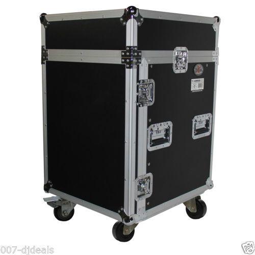 ProX-14-Space-14U-10U-Mixer-DJ-Combo-Rack-Laptop-Flight-Case-T-14MRLT