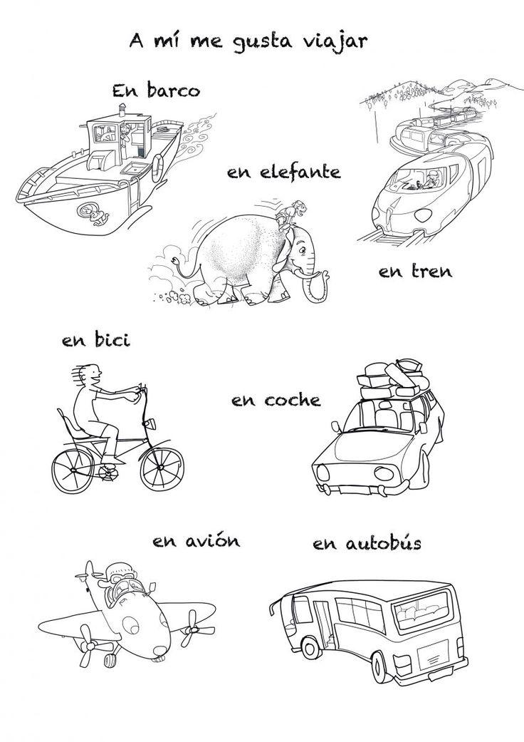 Means of transportations | Rockalingua