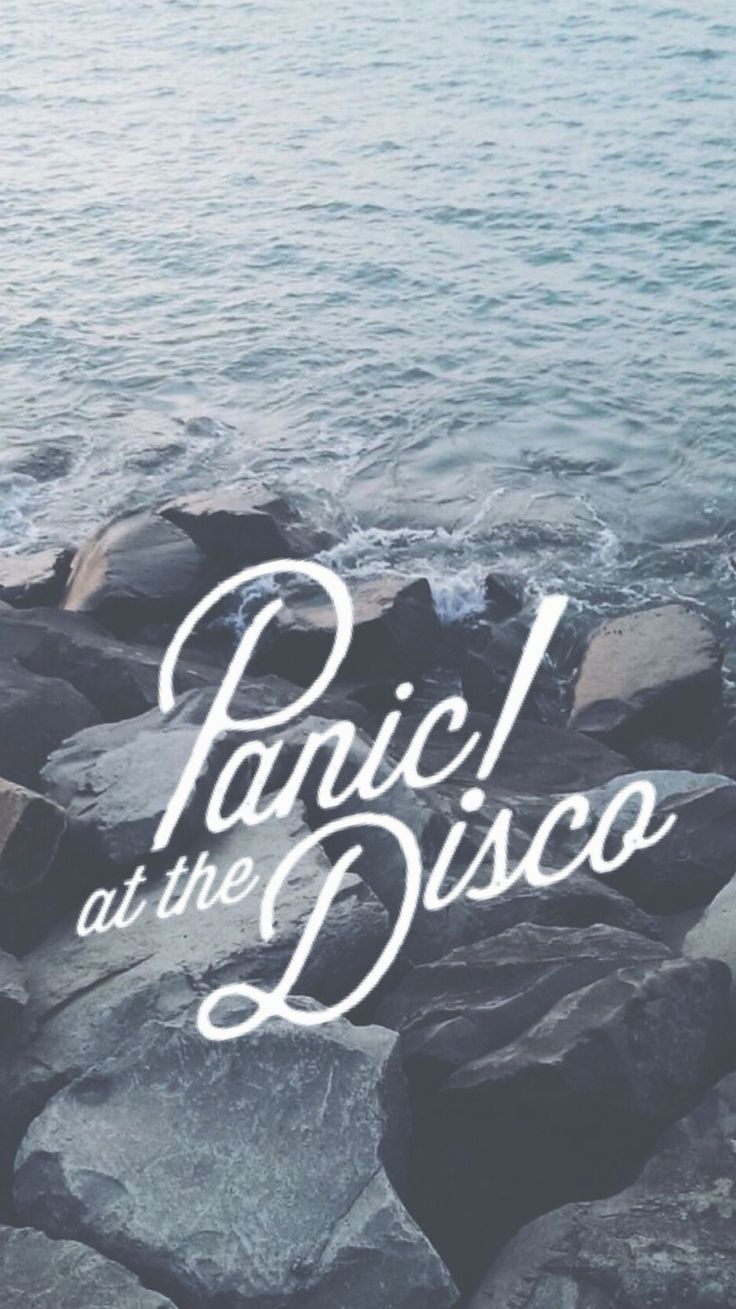 I made this Panic! at the Disco iPhone wallpaper!❤️❤️