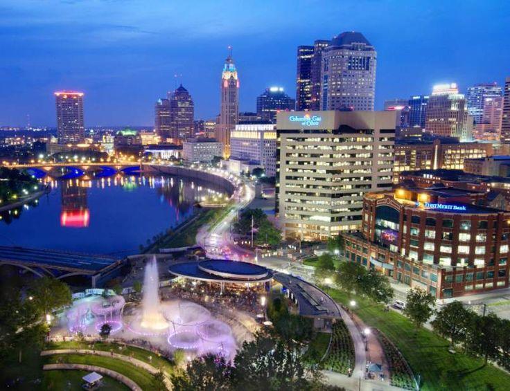 The beautiful city of columbus ohio