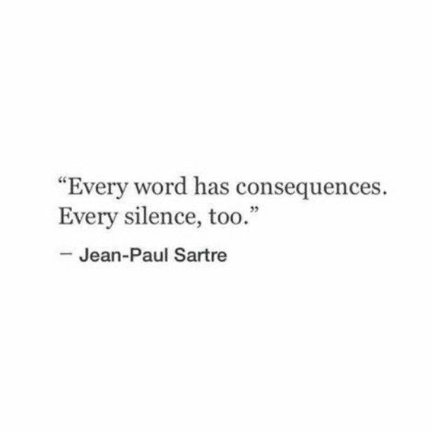 Jean-Paul Sartre #Quote repinned by @3MomsTips 3MomsTips.com