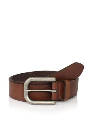 John Varvatos Star USA Men's Leather Belt