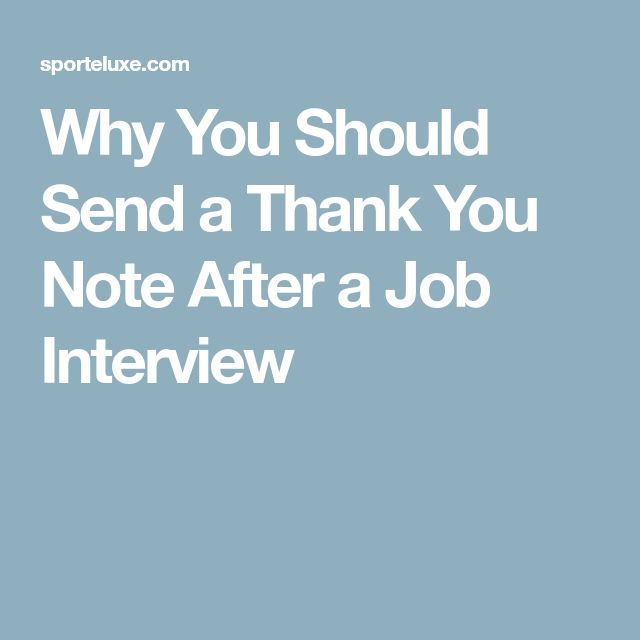 Best  Thank You After Interview Ideas On   Resume