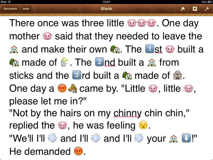 Utilising The Emoji Keyboard In The Classroom!