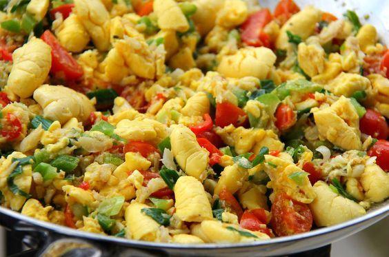 Simple Jamaican Ackee And Saltfish Recipe.