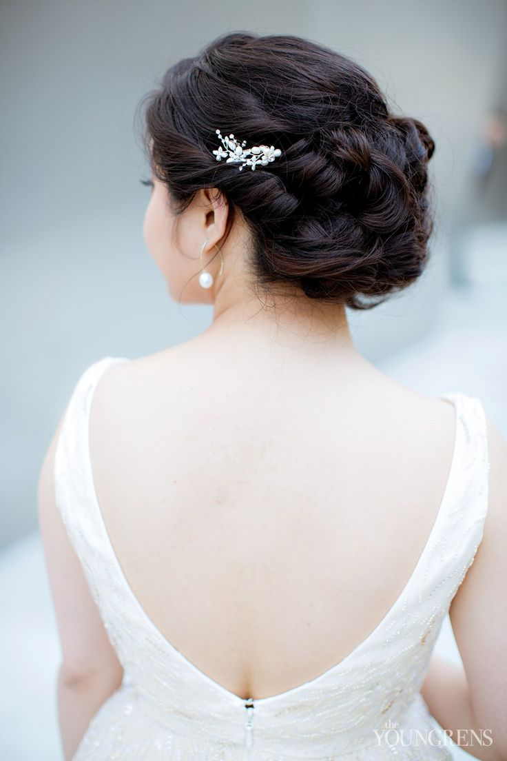 37 best hair images on Pinterest | Bridal hairstyles, Wedding hairs ...