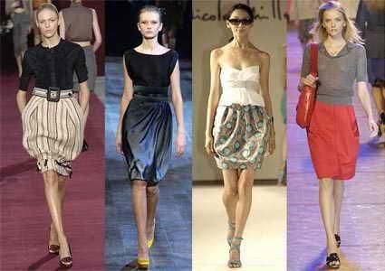 Коллекция идей юбка тюльпан