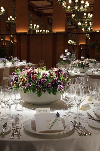 パーク ハイアット 東京(Park Hyatt Tokyo) ふたりを祝福するみずみずしい花の魅力にあふれて