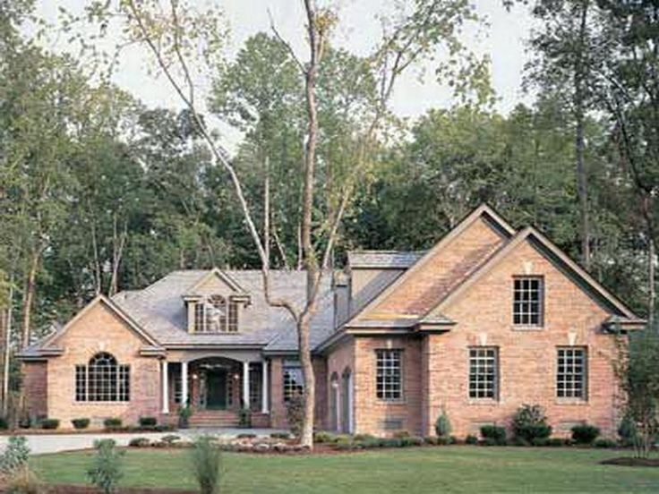 The New American Style Homes Exterior Design Style Types Brick