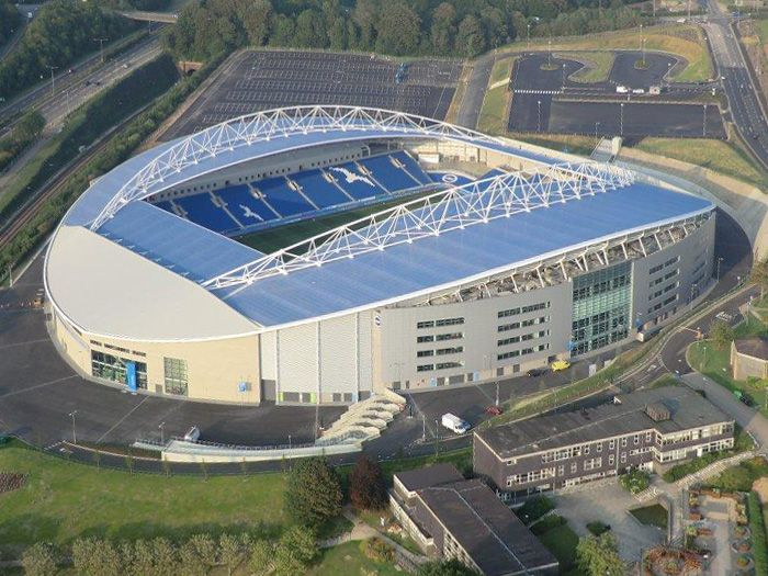 The Amex Community Stadium, City of Brighton & Hove #Stadia #Football #BHAFC