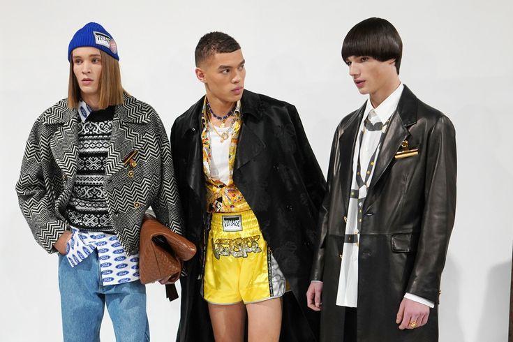 Versace – Backstage – Milan Men's Fashion Week Autumn/Winter 2019/20