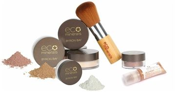 The ECO beauty overhaul - save $! Our most popular pack to go ECO! 100% natural, pure, beautiful & ECO friendly products. 100% Colour Match Guarantee! Not sure which colour to choose? Download our FREE phone app. What is included: Pure Mineral Foundation 5gm 1 x Supersoft Kabuki Brush Your choice of Bronzer or Blush 1 x Eyeshadow/Brow Powder of choice Concealer or Alchemy Hi Light Cream. FREE Shipping worldwide