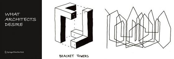"""http://www.cosasdearquitectos.com/2011/08/what-architects-desire-lo-que-los-arquitectos-desean/  Durante la 12 ª Bienal de Arquitectura de Venecia se realizó una encuesta entre arquitectos en la que se les pedía que respondiesen gráficamente a la pregunta """"¿qué estas deseando?"""". Los dibujos son muy personales, la diversidad se da en todos los casos: tanto en el lenguaje pictórico y en la presentación en términos de contenido como en las reacciones ante esta pregunta"""