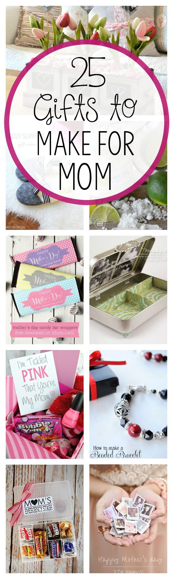 Christmas Gift Ideas For Mother Part - 48: DIY Motheru0027s Day Gift Ideas