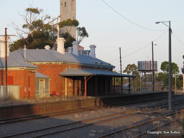 St Arnaud Railway Station in 2012