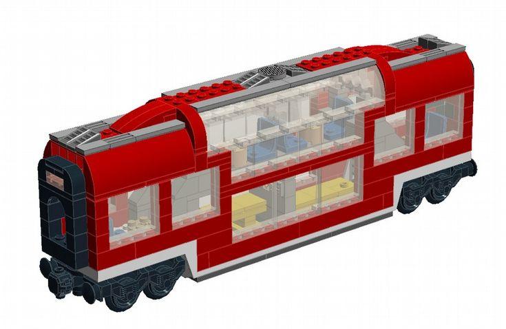 "Club Car for ""Lego 7938 Passenger Train Set"""