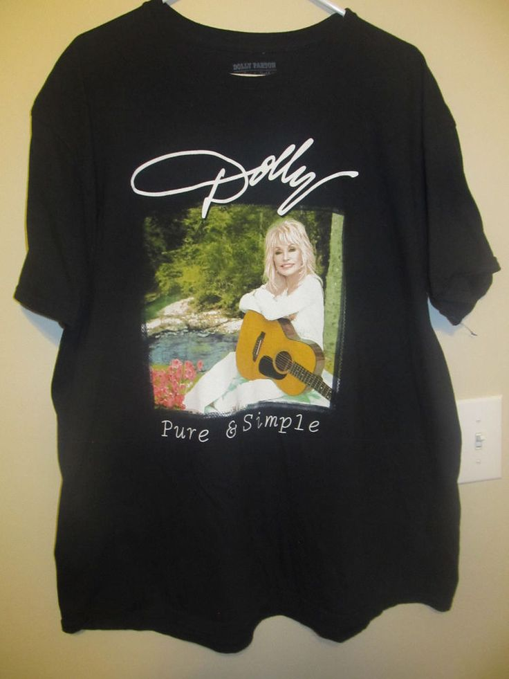 2016 Dolly Parton Pure & Simple Tour shirt - Adult XX-large