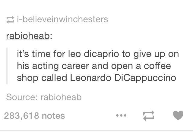 Leonardo diCappuccino