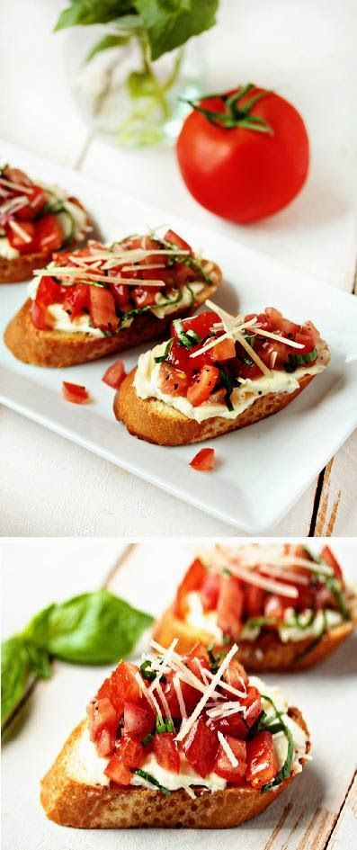 Exclusive Foods: Roasted Garlic and Tomato Bruschetta