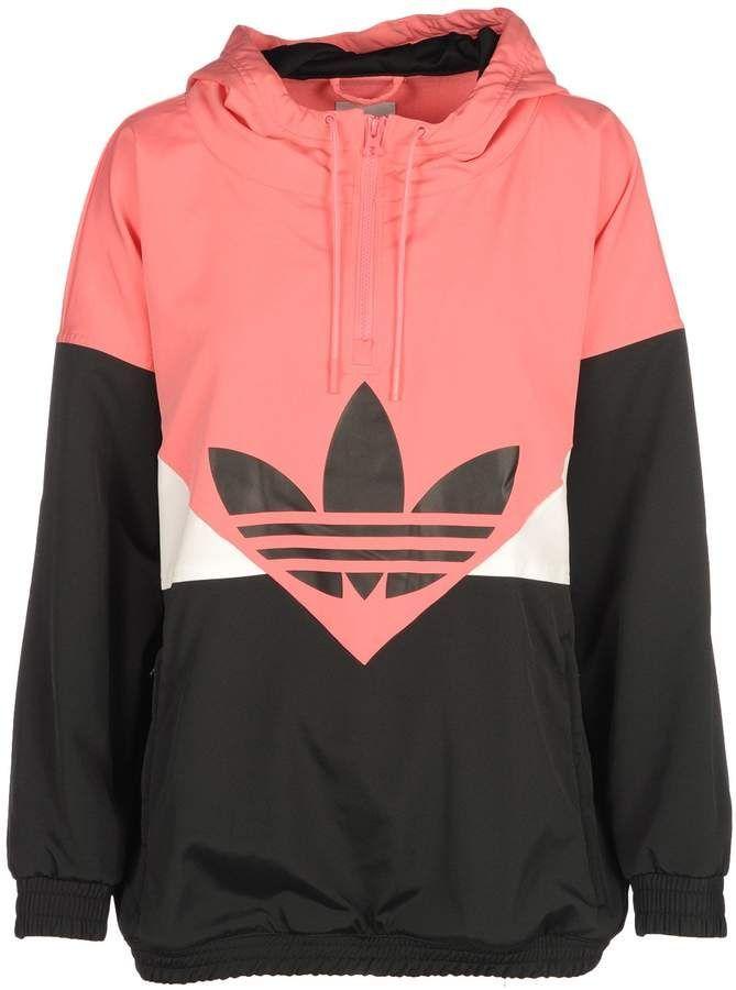 b473600d3414 CLICK TO BUY~Adidas Windbreaker Jacket  womenactivewearsweatshirts ...