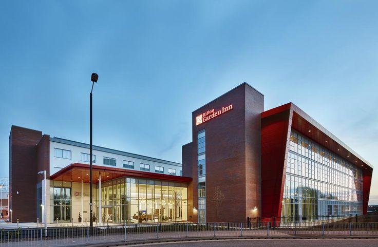 €70 Het Hilton Garden Inn Sunderland ligt naast het Stadium of Light, de thuisbasis van voetbalclub Sunderland.