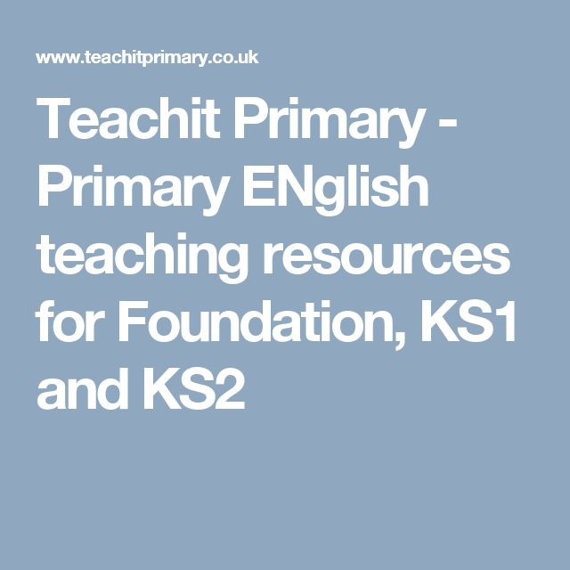 Teachit Primary - Primary ENglish teaching resources for Foundation, KS1 and KS2