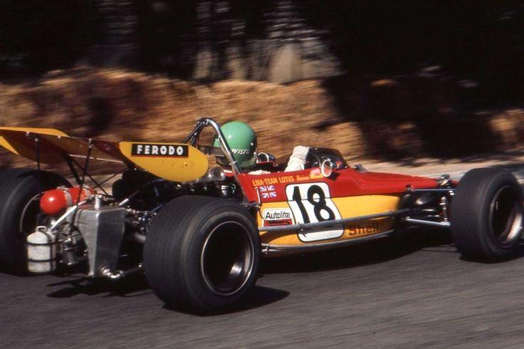 Reine Wisell - Lotus 69C Cosworth FVA/Racing Engine Service - LIRA - Team Lotus - XXXI Grand Prix Automobile de Pau - 1971 Trophées de France FFSA de Formule 2, Round 1