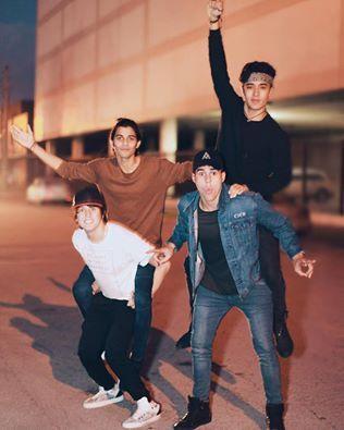 Erick, Chris, Joel y Zabdi❤❤❤❤❤