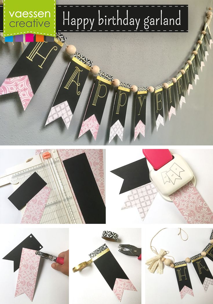 Life may be a party, but you will have to put up the decorations yourself. Fortunately, making your own garlands from paper is as easy as pie, thanks to this fun DIY project. This project is perfect for all sorts of celebrations!