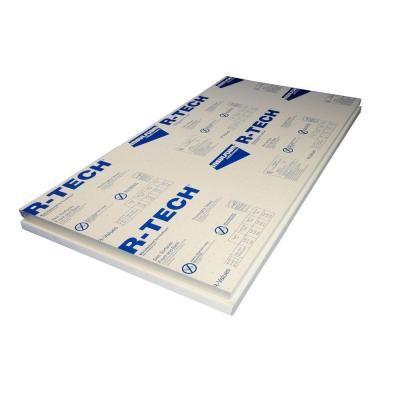 R Tech 1 1 2 In X 2 Ft X 4 Ft Foam Insulation 310876