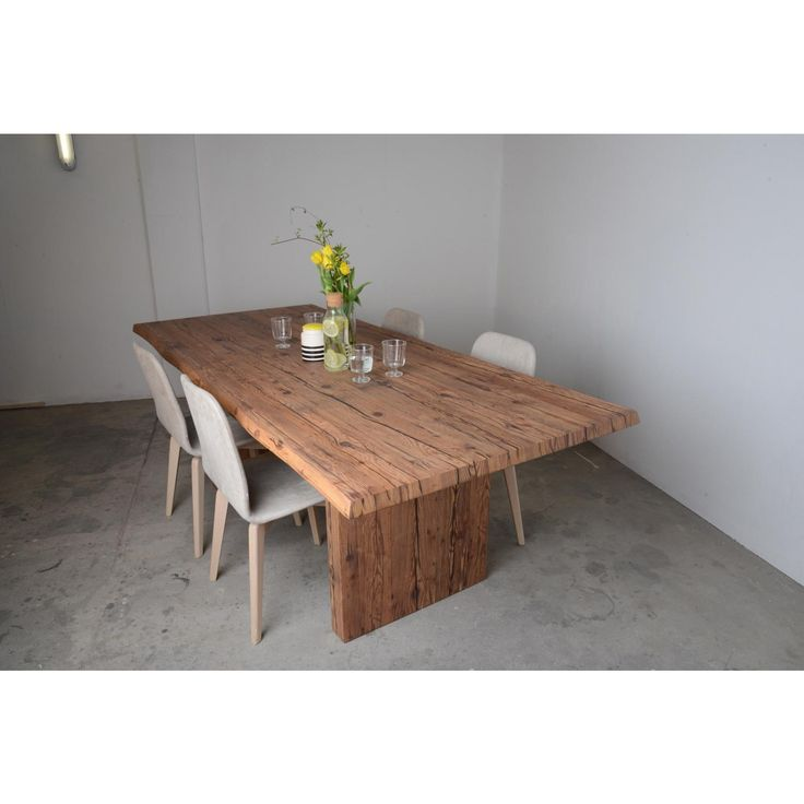 die besten 25 altholz tischplatte ideen auf pinterest. Black Bedroom Furniture Sets. Home Design Ideas