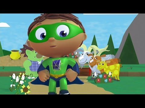 Super Why Full Episodes  - The Three Billy Goats Gruff ✳️ S01E22 (HD) - YouTube
