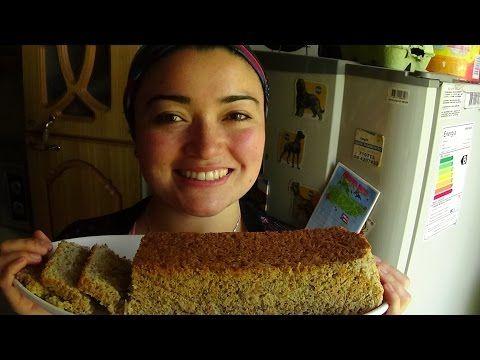 RÁPIDO PAN DE SALVADO DE AVENA EN MICROONDAS SIN Gluten - YouTube