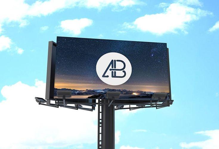 Giant Billboard Mockup