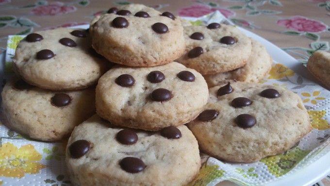 Jednoduché cookies s čokoládou