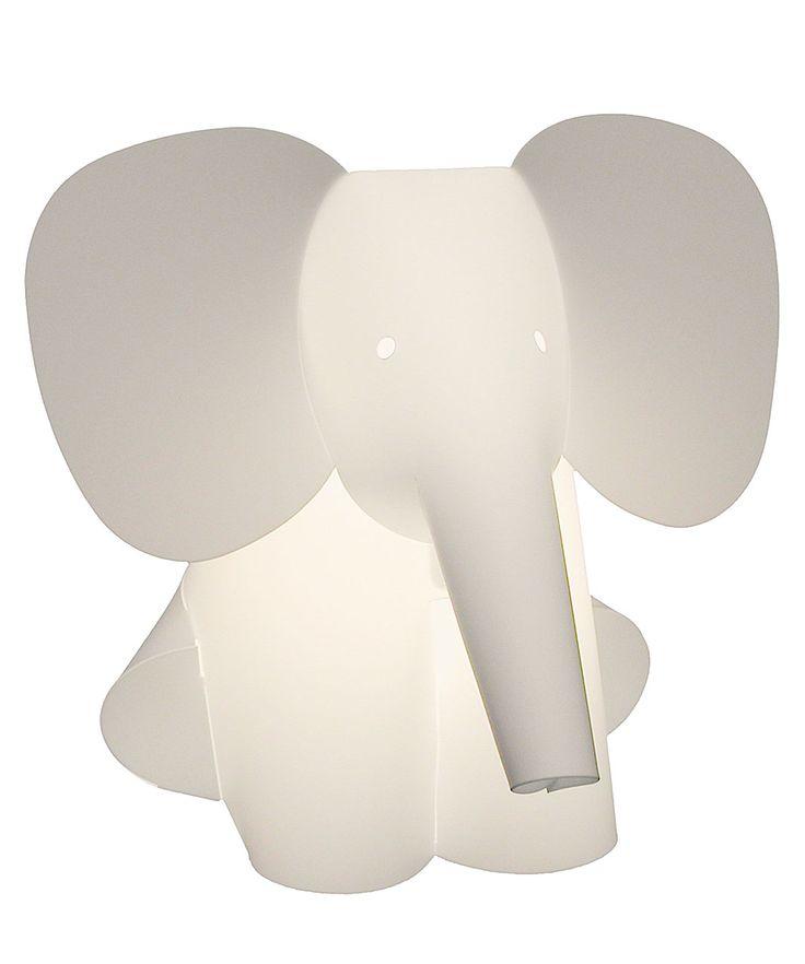 Zzzoolight Lampada da Notte Elefante  – Cambia Colore Battendo le mani! (basso consumo e Made in Italy!) Family Nation