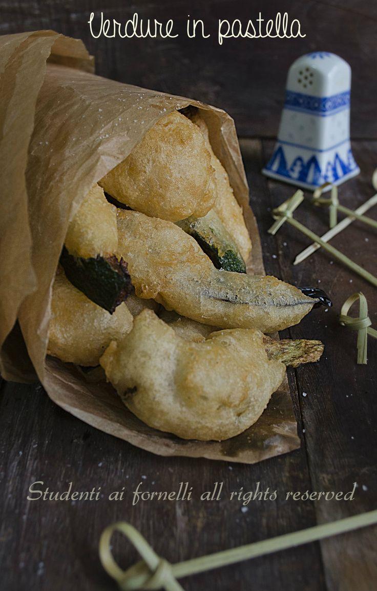 verdure in pastella o cuoppo napoletano ricetta
