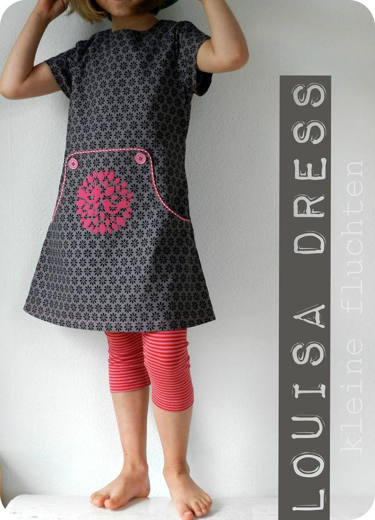 Im nächsten Louisa Dress nämlich -  ein anderes gab es ja letzte Woche schon hier  zu sehen :-)        Marte vom belgischen Blog Compagnie...