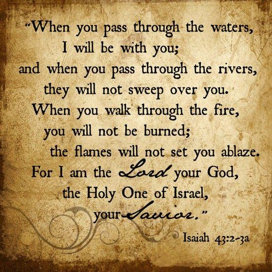 Isaiah 43:2-3