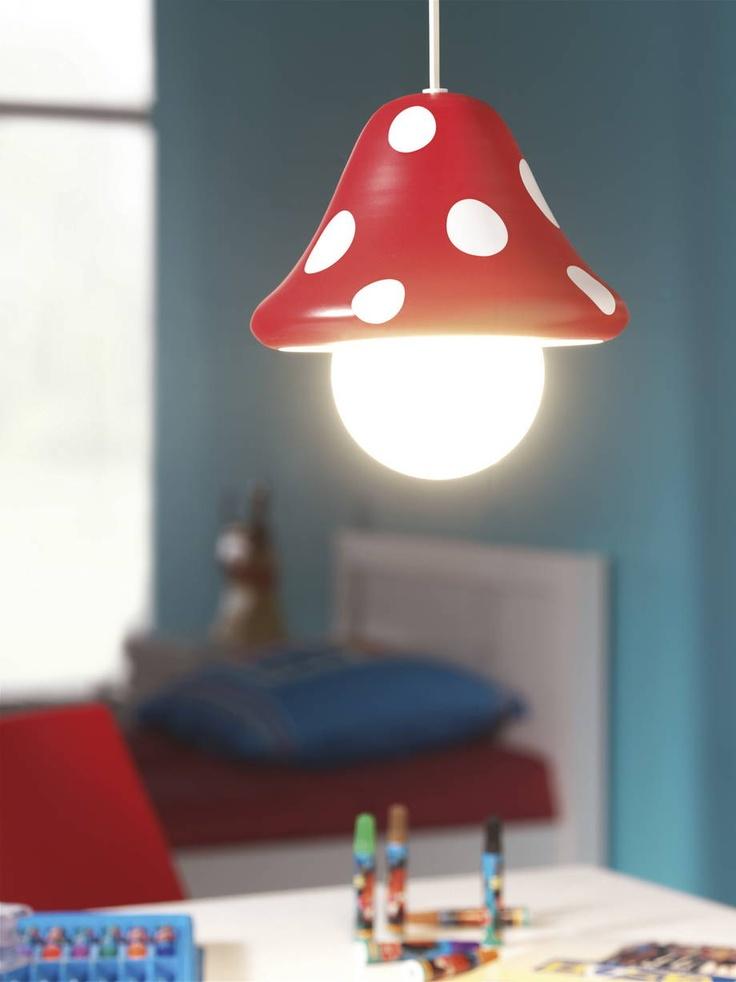 Une suspension pour illuminer une chambre d'enfant