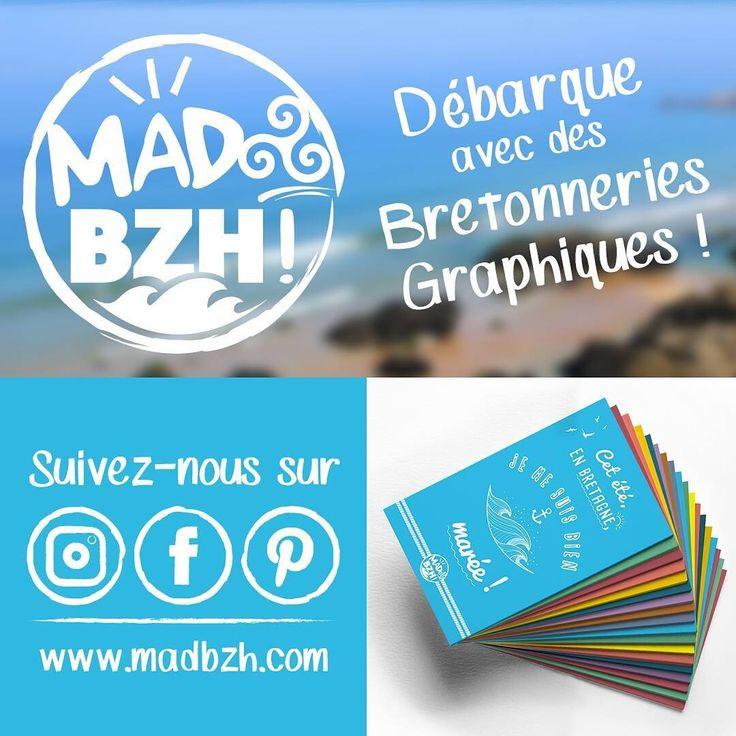 Lancement imminent de la marque MAD BZH! créé par  Aaska ! Découvrez bientôt mes bretonneries graphiques ! Commencez à suivre le compte MAD BZH sur Instagram & Facebook pour ne pas en louper une miette 😁 Rendez-vous sur www.madbzh.com .@aaska.graphiste.illustratrice #MADBZH! #aaska #cartespostales #graphicdesign #humour #madeinbzh #bretagne #bzh #breizh #boutique #instagood #fun #creative #artoftheday #lifestyle #picoftheday #jaimelabretagne #fansdebretagne #igersbretagne #bretagnemylove…